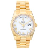 Rolex Day-Date 36 Yellow gold 36mm White Roman numerals United States of America, Texas, Dallas