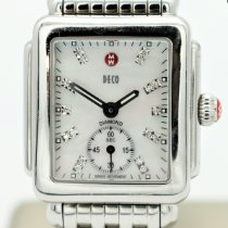 Michele Deco Steel 29mm Mother of pearl No numerals United States of America, Nevada, Las Vegas