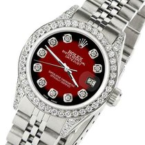 Rolex Datejust Steel 26mm Red United States of America, New York, New York