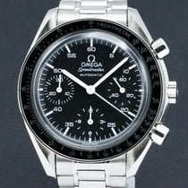 Omega Speedmaster Reduced Steel 39mm Black No numerals