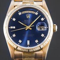 Rolex Day-Date 36 Gelbgold 36mm Blau Deutschland, Essen