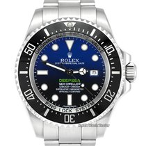 Rolex Sea-Dweller Deepsea Steel 44mm Blue No numerals United Kingdom, Manchester