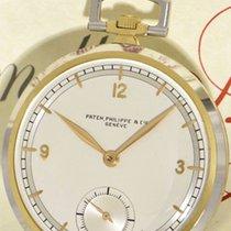 Patek Philippe Platin Handaufzug Arabisch 44mm gebraucht