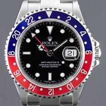 Rolex 16710 Stahl 1996 GMT-Master II 40mm gebraucht Deutschland, Essen