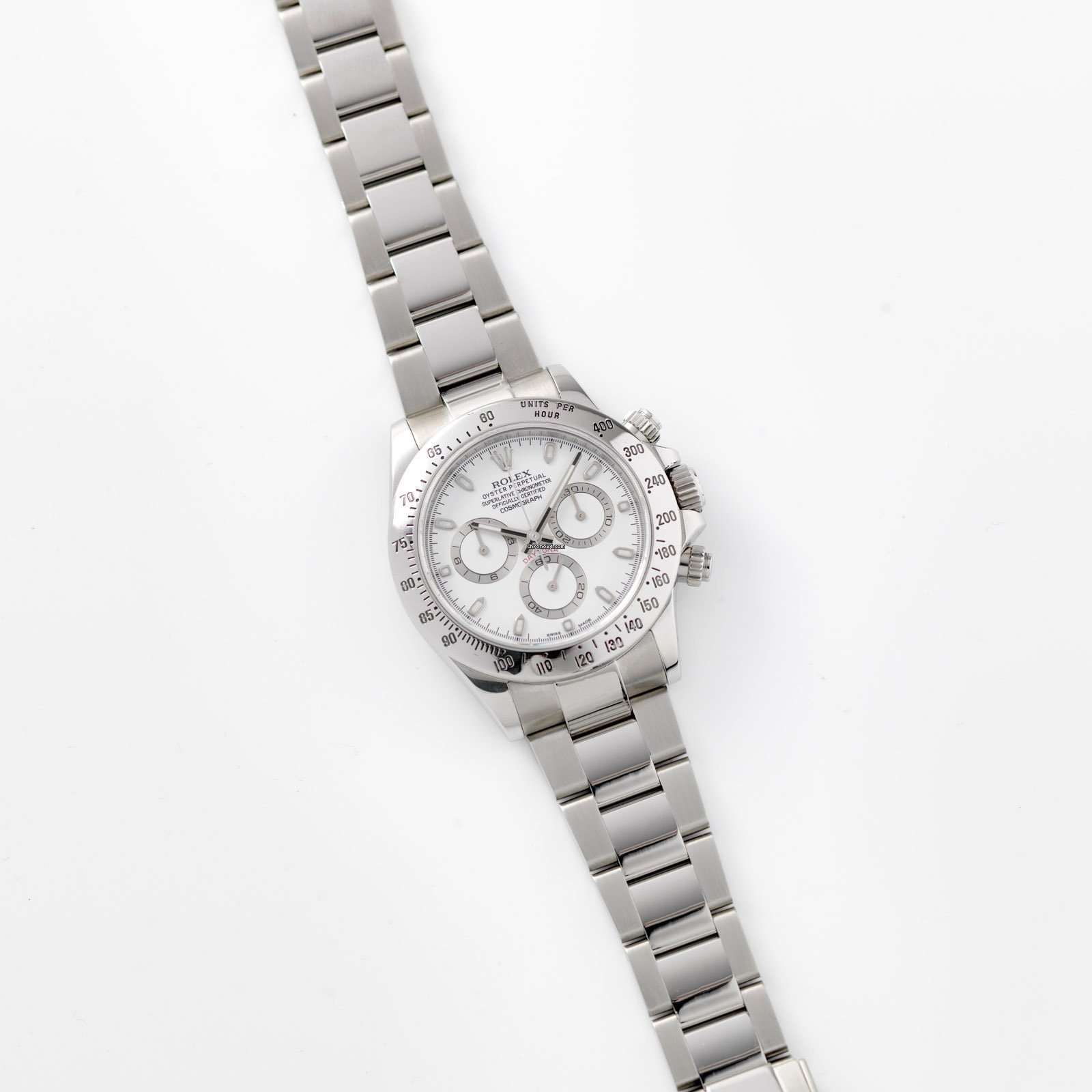 Rolex Daytona Steel 116520 White 'APH' Dial for £16,970 for