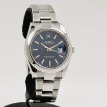 Rolex Datejust II Acier 41mm Bleu Sans chiffres