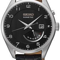 Seiko Kinetic Steel 42.2mm Black