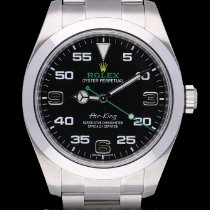 Rolex Air King Acero 40mm Negro Arábigos España, Barcelona