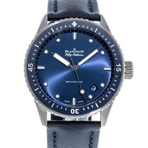Blancpain Fifty Fathoms Bathyscaphe new 2020 Automatic Watch with original box and original papers 5000-0240-O52A