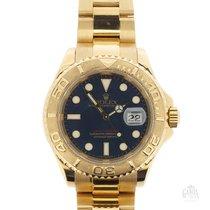 Rolex Yacht-Master occasion 40mm Bleu Date Or jaune
