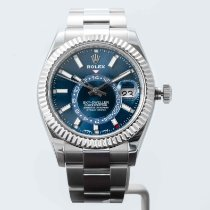 Rolex Sky-Dweller Steel 42mm Blue No numerals United States of America, Massachusetts, Boston