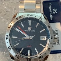 Seiko Grand Seiko Steel 39mm Blue No numerals United States of America, Florida, Hollywood