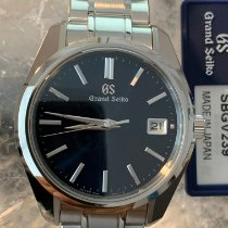 Seiko Grand Seiko Steel 40mm Blue No numerals United States of America, Florida, Hollywood