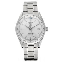 TAG Heuer Carrera Calibre 7 Steel 39mm White No numerals United States of America, Florida, Sarasota
