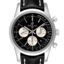 Breitling Transocean Chronograph pre-owned 43mm Black Chronograph Tachymeter
