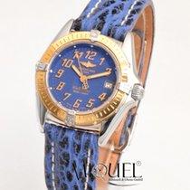Breitling Callisto Gold/Stahl 28mm Blau Deutschland, Teuschnitz