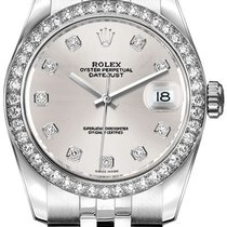 Rolex Lady-Datejust 179384-SLVDJ new