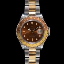 Rolex GMT-Master II Золото/Cталь