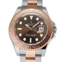 Rolex Yacht-Master 40 Gold/Steel 40mm Brown United States of America, New York, New York