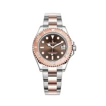 Rolex Yacht-Master 37 Gold/Steel 37mm Brown United States of America, New York, New York