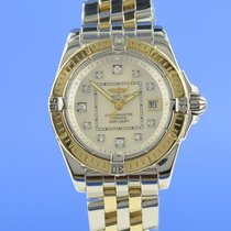 Breitling Cockpit Lady Gold/Steel 32mm Mother of pearl