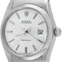 Rolex Oyster Precision Steel 34mm Silver No numerals United States of America, Texas, Dallas