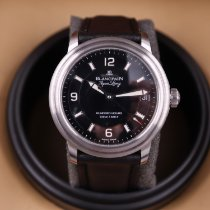 Blancpain Léman Ultra Slim Steel 38mm Black Arabic numerals