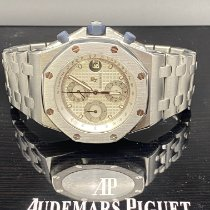 Audemars Piguet Royal Oak Offshore Chronograph occasion Blanc Chronographe Date Acier