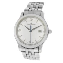 Jaeger-LeCoultre Master Control Date Steel 40mm Silver Arabic numerals United States of America, New York, New York