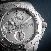 Longines HydroConquest Steel 41mm Silver Arabic numerals