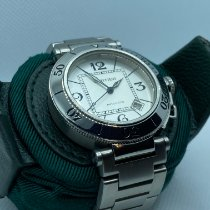 Cartier Pasha Seatimer Steel 40mm Silver Arabic numerals United States of America, Texas, Katy