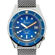Squale Stål 42mm Automatisk 1521 ny
