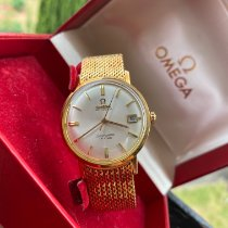 Omega Seamaster DeVille Yellow gold 34mm No numerals