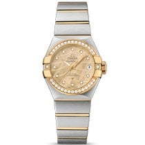 Omega Constellation Ladies new Automatic Watch with original box and original papers 123.25.27.20.57.002