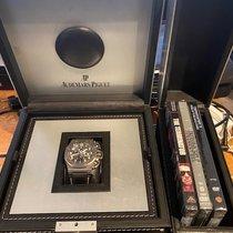 Audemars Piguet Royal Oak Offshore Chronograph Titan 48mm Sort Arabertal Danmark, Hinnerup