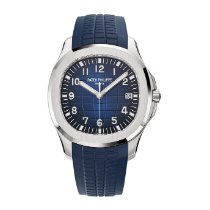 Patek Philippe Aquanaut White gold 42.2mm Blue Arabic numerals