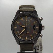 IWC Fliegeruhr Chronograph Top Gun Miramar Keramik 46mm Schwarz Arabisch