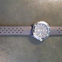 Alpina Seastrong Пластик 44mm Чёрный Без цифр