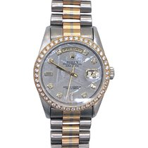 Rolex Day-Date White gold 36mm No numerals United States of America, New York, Greenvale