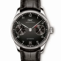 IWC Portuguese Automatic new Automatic Watch with original box and original papers IW500703