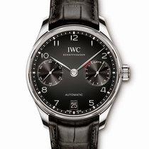 IWC Portuguese Automatic Steel Black Arabic numerals United States of America, Florida, Boca Raton