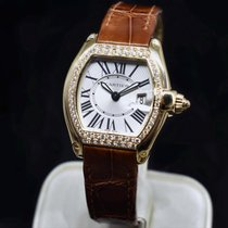 Cartier Roadster Yellow gold Silver Roman numerals United States of America, Texas, Frisco