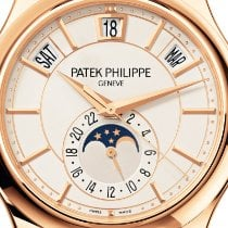 Patek Philippe Pозовое золото Автоподзавод Белый Без цифр 40mm новые Annual Calendar
