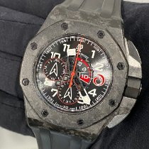 Audemars Piguet Carbone Remontage automatique Noir Arabes 44mm occasion Royal Oak Offshore Chronograph