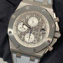 Audemars Piguet Titanium Automatic Grey Arabic numerals 42mm new Royal Oak Offshore Chronograph