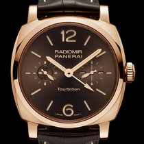 Panerai Special Editions Rose gold 48mm Brown Arabic numerals