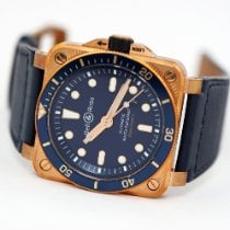 Bell & Ross new Automatic 42mm Bronze Sapphire crystal