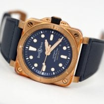 Bell & Ross BR 03 BR0392-D-BU-BR/SCA New Bronze 42mm Automatic