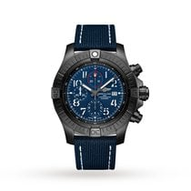 Breitling Titanium Automatic Blue Arabic numerals 48mm new Super Avenger