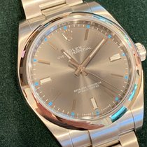 Rolex Oyster Perpetual 39 Steel 39mm Grey No numerals United States of America, California, Yorba Linda